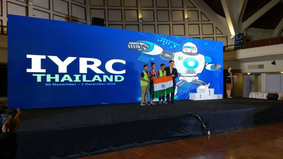 2018 IYRC  Winners
