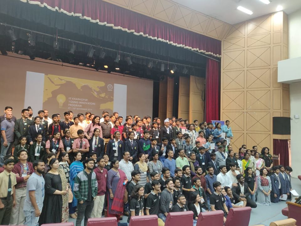 2019 IIT Khargpur Young Innovation Challenge Winners