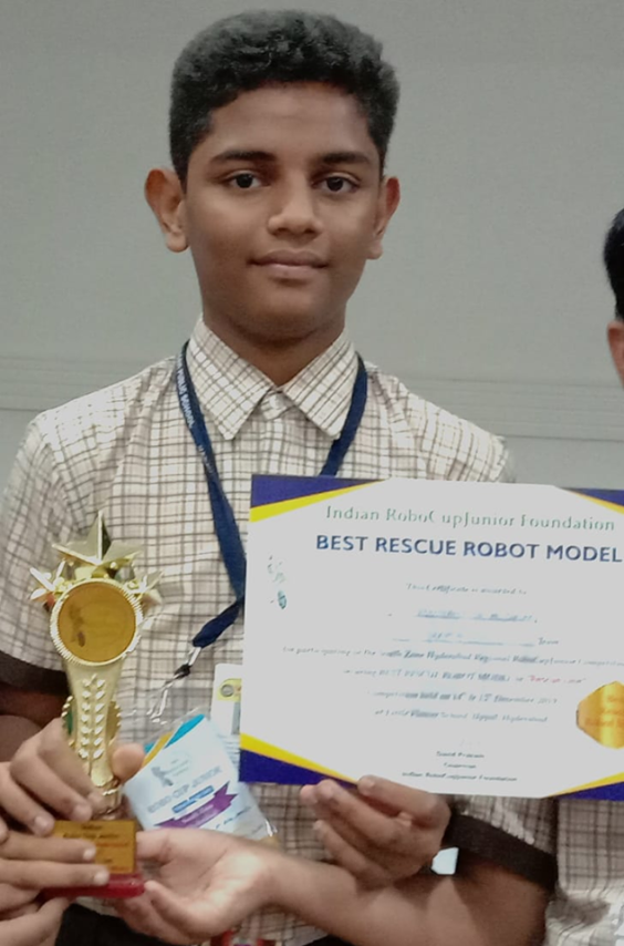 ROBO CUP JUNIOR South zone Hyderabad 2019